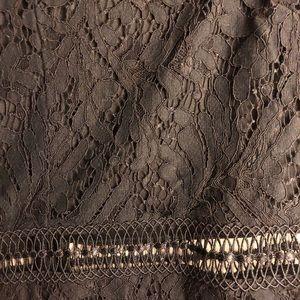 Francesca's Collections Dresses - black lace dress!